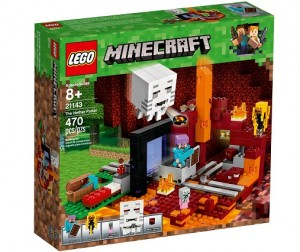 LEGO ® Minecraft 21143 Portal do Netheru