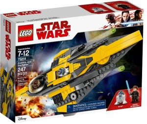 LEGO ® 75214 Star wars Jedi Starfighter Anakina