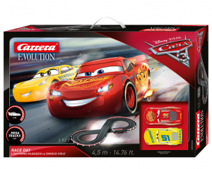 Carrera 20025226 Evolution DISNEY·PIXAR CARS 3 - RACE DAY