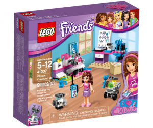 LEGO 41307 Friends Kreatywne laboratorium Olivi