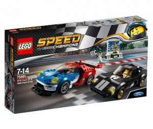LEGO 75881 Speed Champions Ford GT i Ford GT40