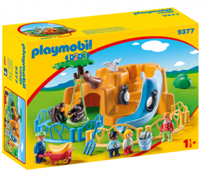 PLAYMOBIL 9377 ZOO 123
