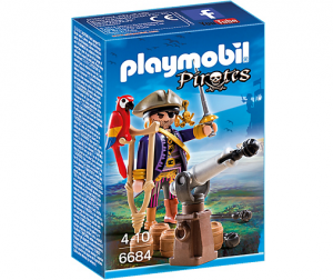 PLAYMOBIL 6684 Kapitan piratów
