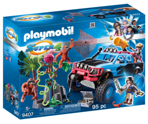 PLAYMOBIL 9407 Monster truck, Alex i Rock Brock