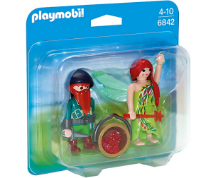 PLAYMOBIL 6842 Duo Pack Elf i Krasnolud