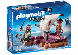 PLAYMOBIL 6682 Tratwa piracka