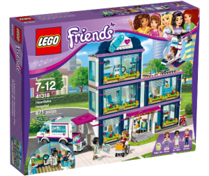LEGO® 41318 Friends Szpital w Heartlake