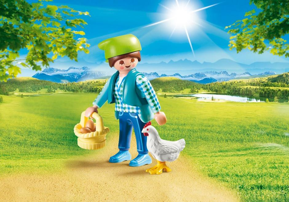 PLAYMOBIL 70030 Farmerka